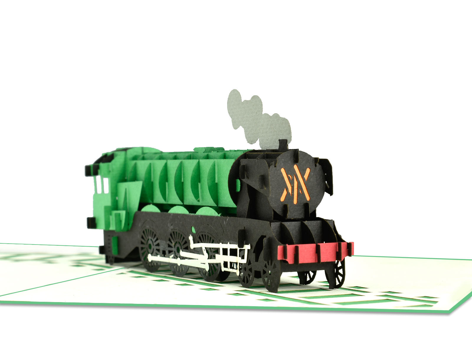 Flying-Scotman Train 3D Creative Pop Up Card