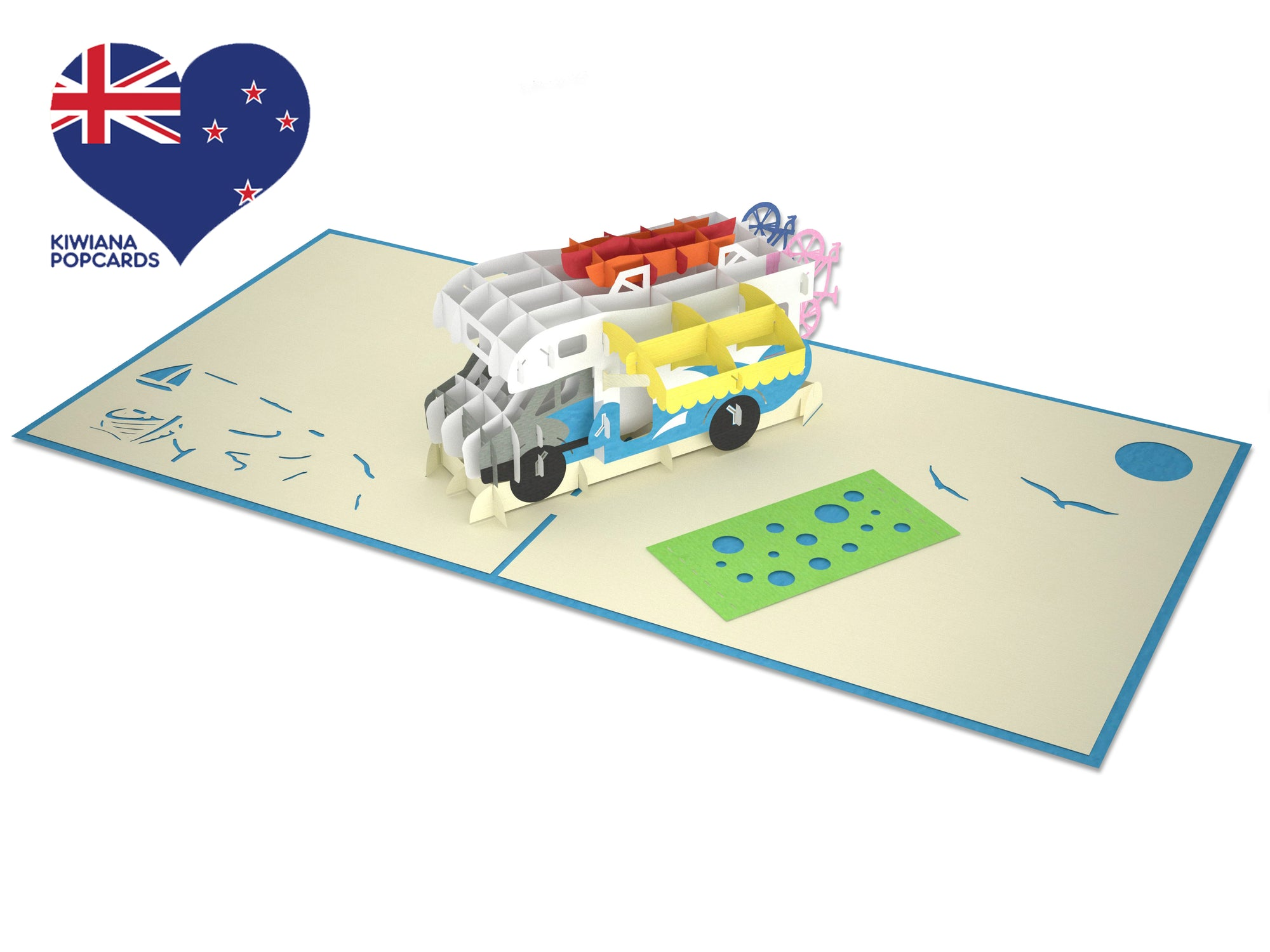 Campervan 3D Creative Pop Up Card