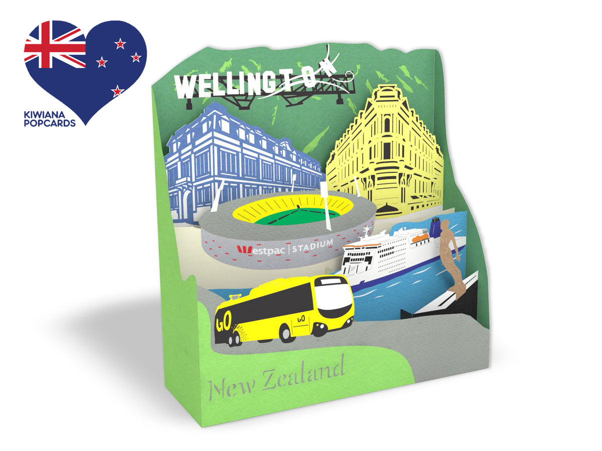 Iconic Wellington 3D Creative Pop Up Box