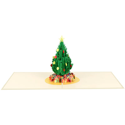 Christmas Tree Pop Card