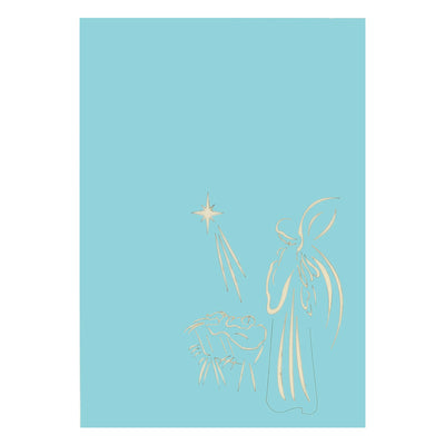 Christmas Nativity  Pop Card