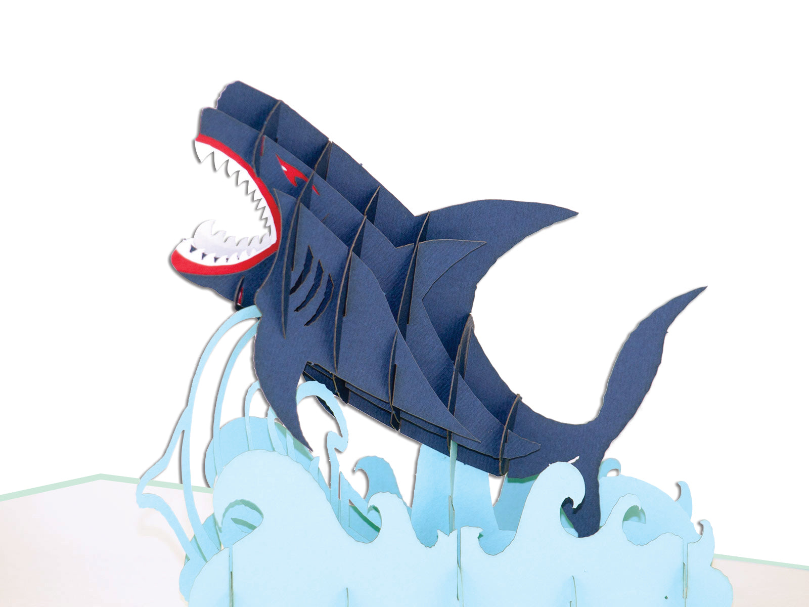 Shark 3D Creative Pop Up Card