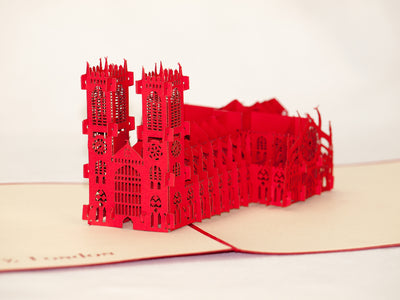 Westminster Abbey Pop Up Card