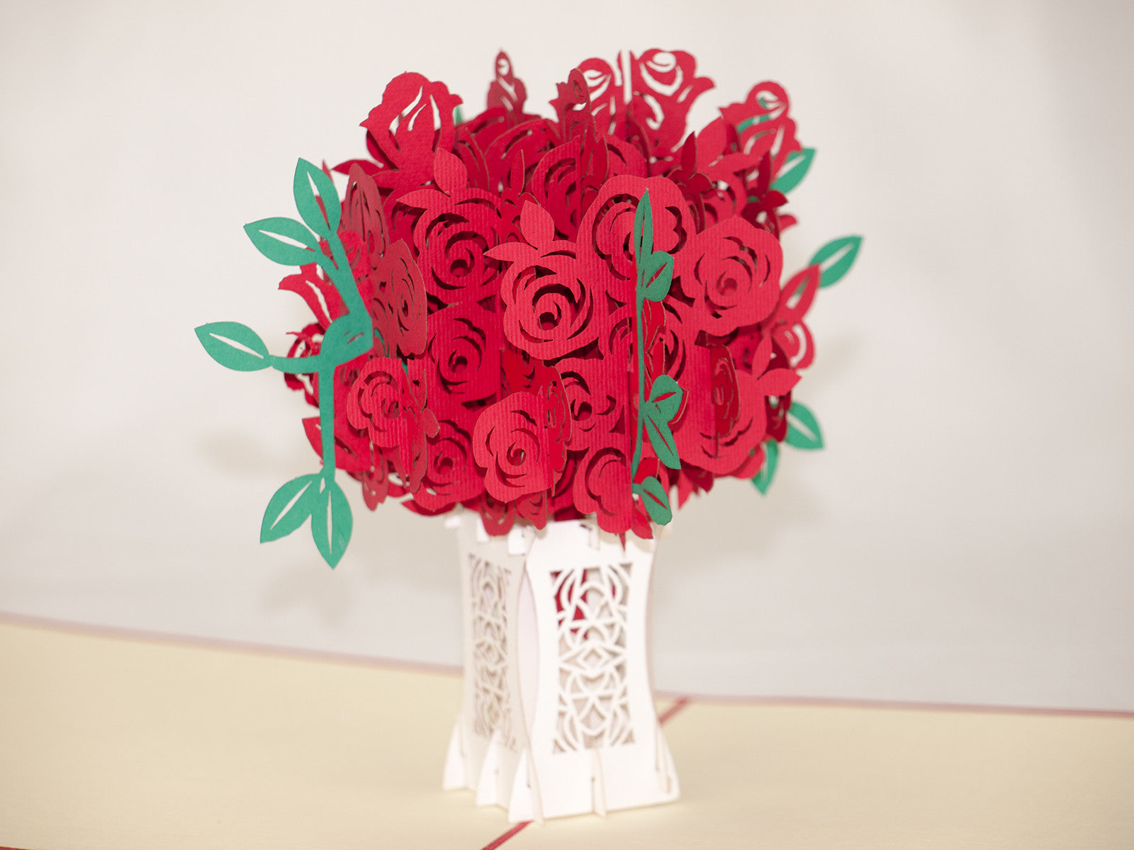 Rose 3D Pop Up Card
