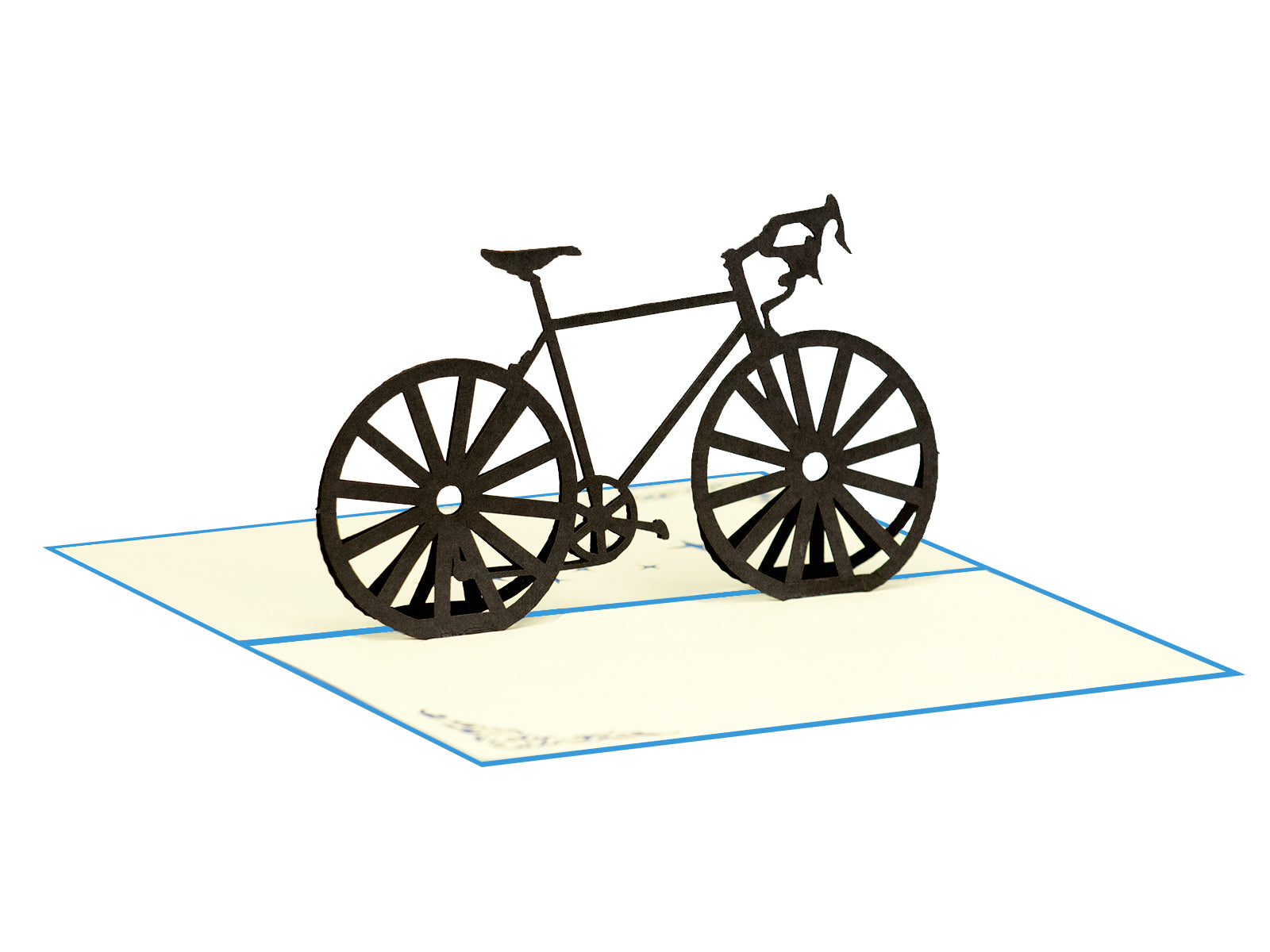 Bicycle 3D Creative Popcard