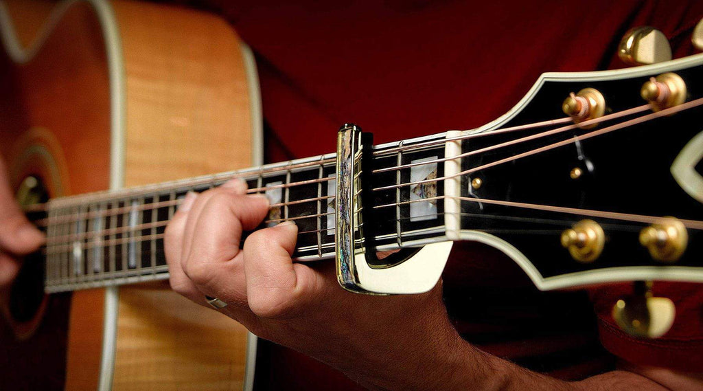 graphic about Printable Guitar Capo Chart known as How In the direction of Employ a Guitar Capo Chart