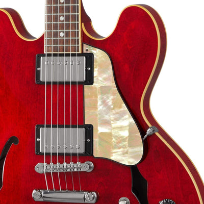 GibsonbyThalia Custom Parts Vintage Pearl | ES-335 Custom Parts Pickguard / Sixties Cherry