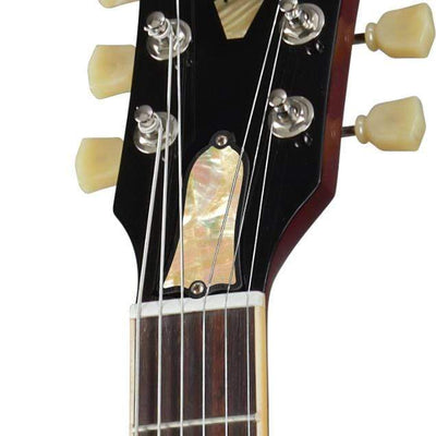 GibsonbyThalia Custom Parts Vintage Pearl | ES-335 Custom Parts Truss Rod Cover / Vintage Ebony