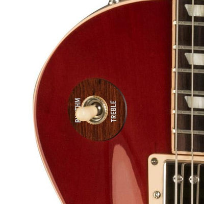 GibsonbyThalia Gibson Custom Parts Indian Rosewood | Les Paul Custom Parts Toggle Switch Washer / Cherry Sunburst / Covered