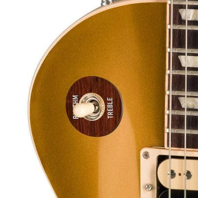 GibsonbyThalia Gibson Custom Parts Indian Rosewood | Les Paul Custom Parts Toggle Switch Washer / Goldtop / Exposed