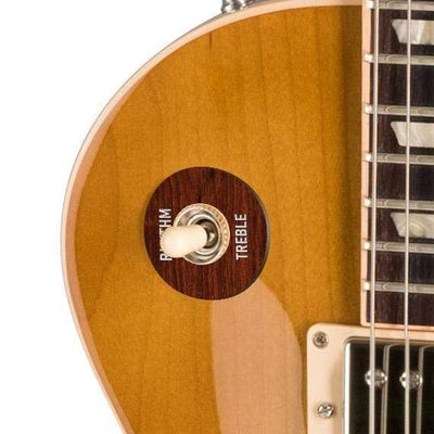 GibsonbyThalia Gibson Custom Parts Indian Rosewood | Les Paul Custom Parts Toggle Switch Washer / Honeyburst / Covered