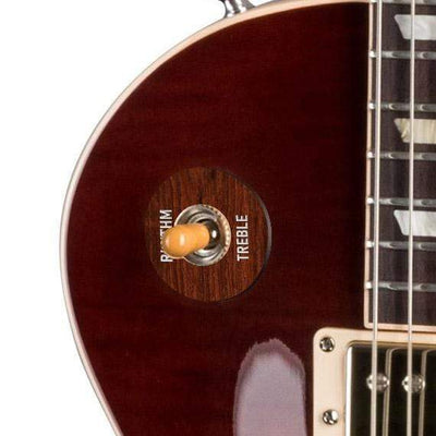 GibsonbyThalia Gibson Custom Parts Indian Rosewood | Les Paul Custom Parts Toggle Switch Washer / Iced Tea / Covered
