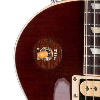 GibsonbyThalia Gibson Custom Parts Indian Rosewood | Les Paul Custom Parts Toggle Switch Washer / Iced Tea / Exposed