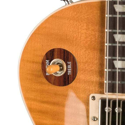 GibsonbyThalia Gibson Custom Parts Indian Rosewood | Les Paul Custom Parts Toggle Switch Washer / Unburst / Covered