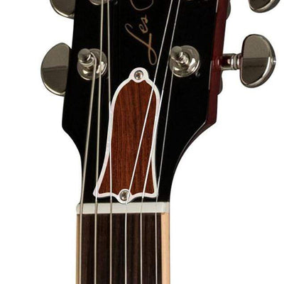 GibsonbyThalia Gibson Custom Parts Indian Rosewood | Les Paul Custom Parts Truss Rod Cover / Cherry Sunburst / Exposed