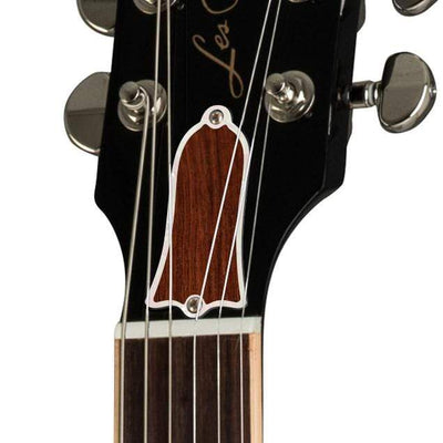 GibsonbyThalia Gibson Custom Parts Indian Rosewood | Les Paul Custom Parts Truss Rod Cover / Ebony / Exposed