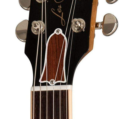GibsonbyThalia Gibson Custom Parts Indian Rosewood | Les Paul Custom Parts Truss Rod Cover / Honeyburst / Exposed