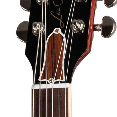 GibsonbyThalia Gibson Custom Parts Indian Rosewood | Les Paul Custom Parts Truss Rod Cover / Iced Tea / Covered
