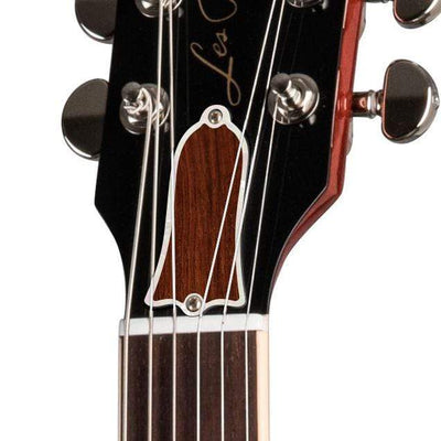 GibsonbyThalia Gibson Custom Parts Indian Rosewood | Les Paul Custom Parts Truss Rod Cover / Iced Tea / Exposed