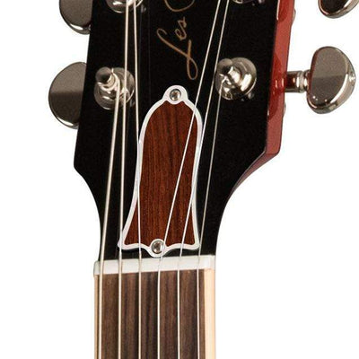 GibsonbyThalia Gibson Custom Parts Indian Rosewood | Les Paul Custom Parts Truss Rod Cover / Translucent Cherry / Exposed