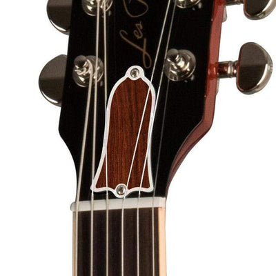 GibsonbyThalia Gibson Custom Parts Indian Rosewood | Les Paul Custom Parts Truss Rod Cover / Unburst / Exposed