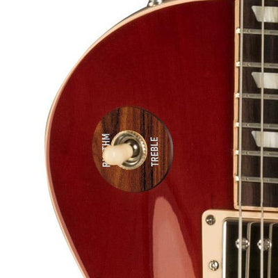 GibsonbyThalia Gibson Custom Parts Santos Rosewood | Les Paul Custom Parts Toggle Switch Washer / Cherry Sunburst / Covered