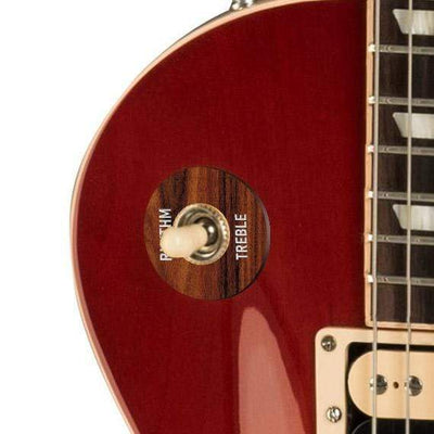 GibsonbyThalia Gibson Custom Parts Santos Rosewood | Les Paul Custom Parts Toggle Switch Washer / Cherry Sunburst / Exposed