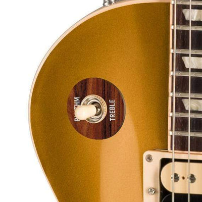 GibsonbyThalia Gibson Custom Parts Santos Rosewood | Les Paul Custom Parts Toggle Switch Washer / Goldtop / Exposed