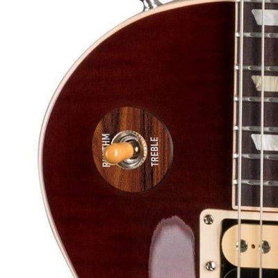 GibsonbyThalia Gibson Custom Parts Santos Rosewood | Les Paul Custom Parts Toggle Switch Washer / Iced Tea / Exposed