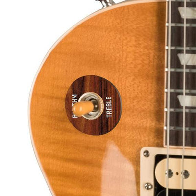 GibsonbyThalia Gibson Custom Parts Santos Rosewood | Les Paul Custom Parts Toggle Switch Washer / Unburst / Exposed