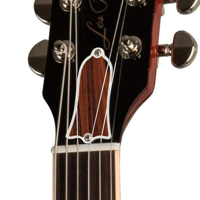 GibsonbyThalia Gibson Custom Parts Santos Rosewood | Les Paul Custom Parts Truss Rod Cover / Unburst / Exposed
