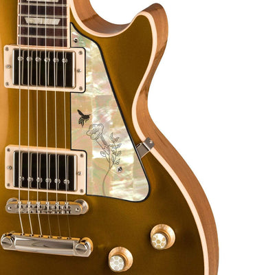 GibsonbyThalia Gibson Custom Parts Save The Bees Flower | Les Paul Custom Parts Pickguard / Goldtop / Covered