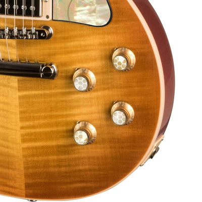 GibsonbyThalia Gibson Custom Parts Vintage Dragon Scales | Les Paul Custom Parts Top Hat Knobs / Unburst / Covered