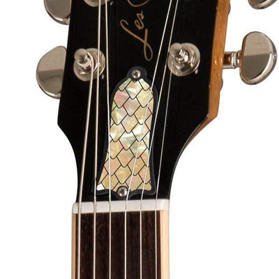 GibsonbyThalia Gibson Custom Parts Vintage Dragon Scales | Les Paul Custom Parts Truss Rod Cover / Honeyburst / Exposed