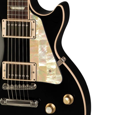GibsonbyThalia Gibson Custom Parts Vintage Pearl | Les Paul Custom Parts Pickguard / Ebony / Covered