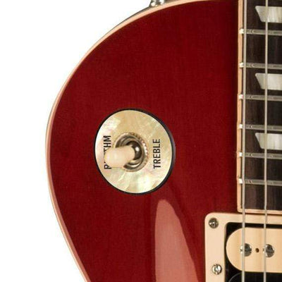 GibsonbyThalia Gibson Custom Parts Vintage Pearl | Les Paul Custom Parts Toggle Switch Washer / Cherry Sunburst / Exposed