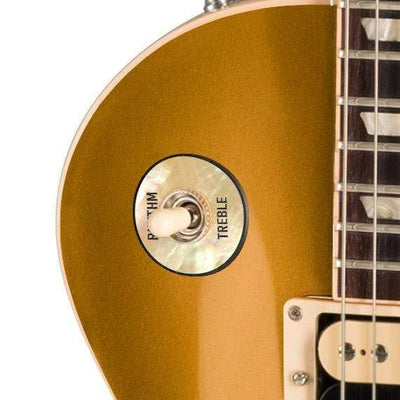 GibsonbyThalia Gibson Custom Parts Vintage Pearl | Les Paul Custom Parts Toggle Switch Washer / Goldtop / Exposed