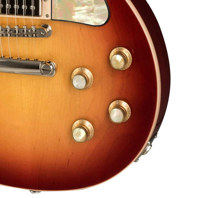 GibsonbyThalia Gibson Custom Parts Vintage Pearl | Les Paul Custom Parts Top Hat Knobs / Cherry Sunburst / Covered