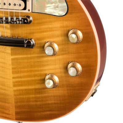 GibsonbyThalia Gibson Custom Parts Vintage Pearl | Les Paul Custom Parts Top Hat Knobs / Unburst / Exposed