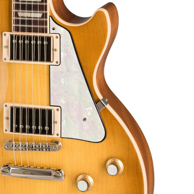 GibsonbyThalia Gibson Custom Parts White Mother of Pearl | Les Paul Custom Parts Pickguard / Honeyburst / Covered