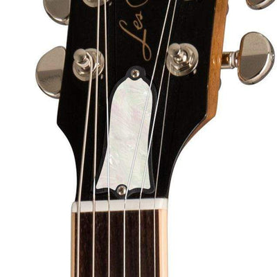 GibsonbyThalia Gibson Custom Parts White Mother of Pearl | Les Paul Custom Parts Truss Rod Cover / Goldtop / Covered