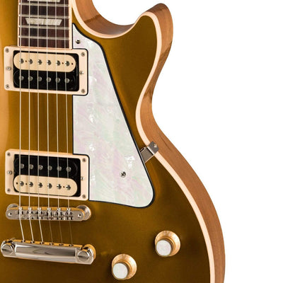 GibsonbyThalia Gibson Custom Parts White Pearl | Les Paul Custom Parts Pickguard / Goldtop / Exposed