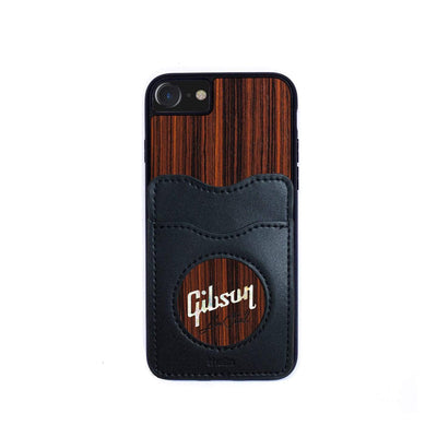 GibsonbyThalia Phone Case Indian Rosewood & Pearl Gibson Les Paul Logo | Wallet Phone Case iPhone 11 Pro Max