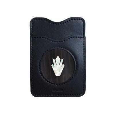 GibsonbyThalia Phone Wallet Pearl Gibson Holly | Leather Phone Wallet Black Ebony