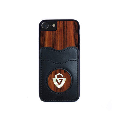 GuildbyThalia Phone Case Santos Rosewood & Pearl Guild G-Shield Logo | Wallet Phone Case iPhone 11 Pro Max