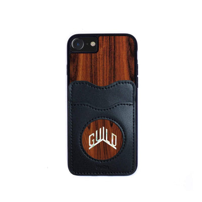 GuildbyThalia Phone Case Santos Rosewood & Pearl Guild Logo | Wallet Phone Case iPhone 11 Pro Max