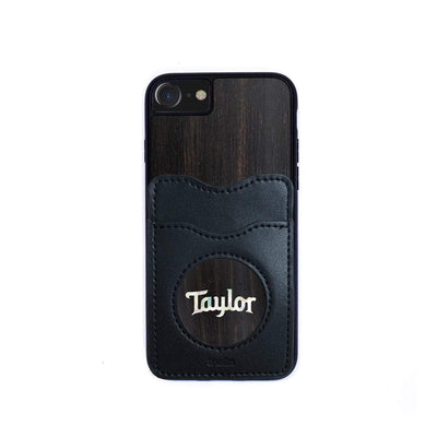 Taylor by Thalia Phone Case Black Ebony & Pearl Taylor Logo | Wallet Phone Case iPhone 11 Pro Max