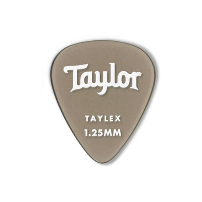 Taylor Picks Taylor Premium 351 Taylex 6-pack | Guitar Picks 1.25mm