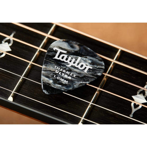 Taylor Picks Taylor Premium 351 Thermex Black Onyx 6-Pack | Guitar Picks