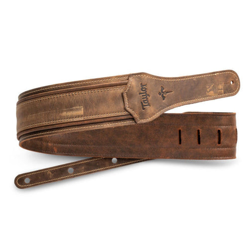 Taylor Strap Taylor Wings | Distressed Leather Guitar Strap 2.5""